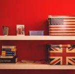 アメリカ・イギリス国旗 IELTS イメージ